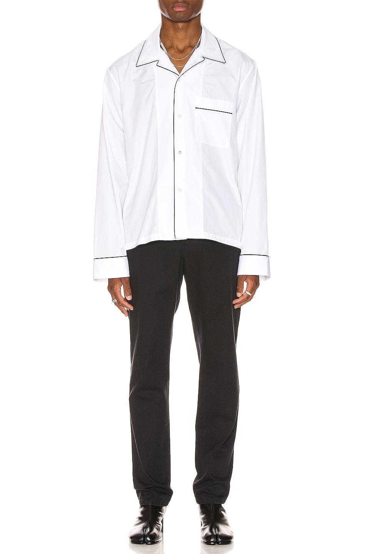 Image 4 of Maison Margiela Long Sleeve Shirt in White