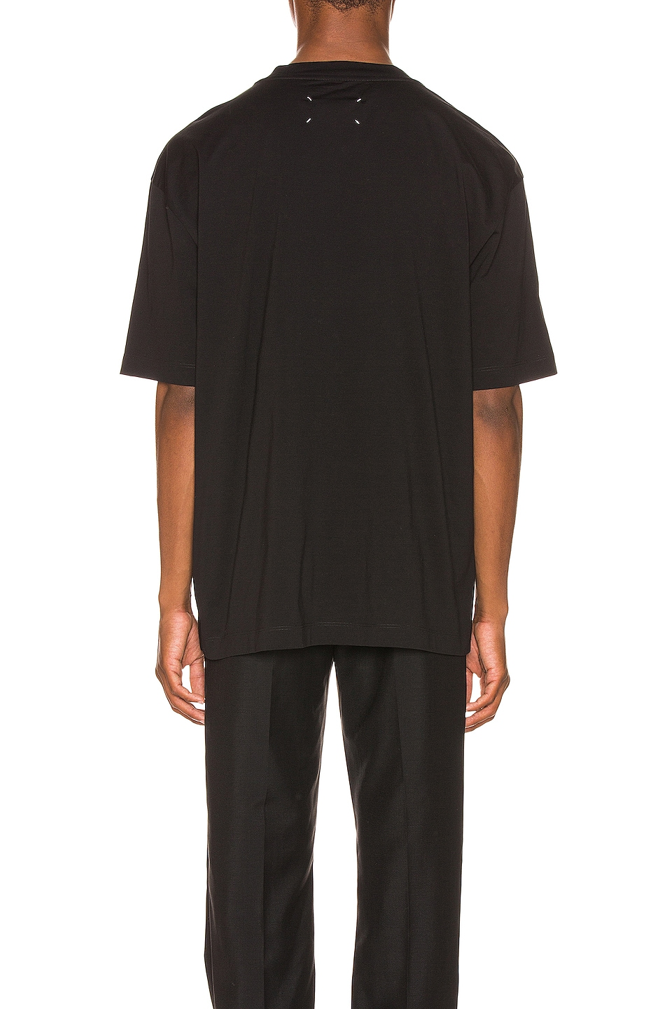 Image 3 of Maison Margiela Graphic Tee in Black