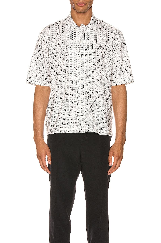 Image 1 of Maison Margiela Printed Shirt in Black & White