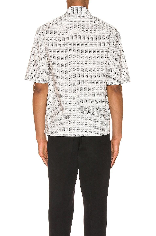 Image 3 of Maison Margiela Printed Shirt in Black & White