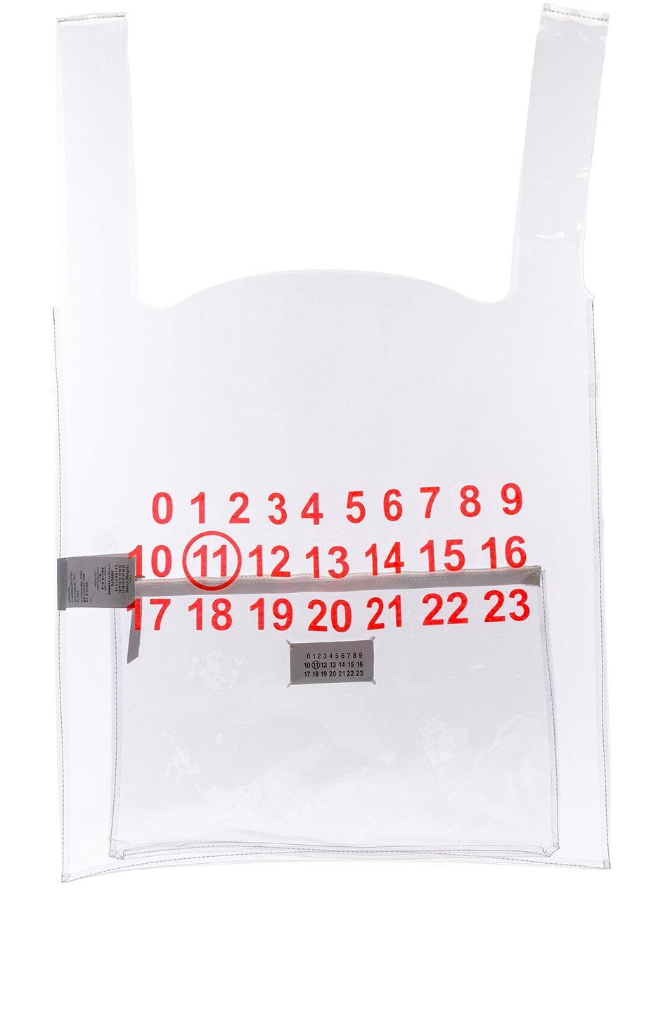 Image 1 of Maison Margiela Tote in Transparent
