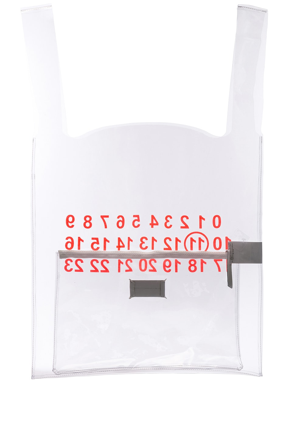 Image 3 of Maison Margiela Tote in Transparent