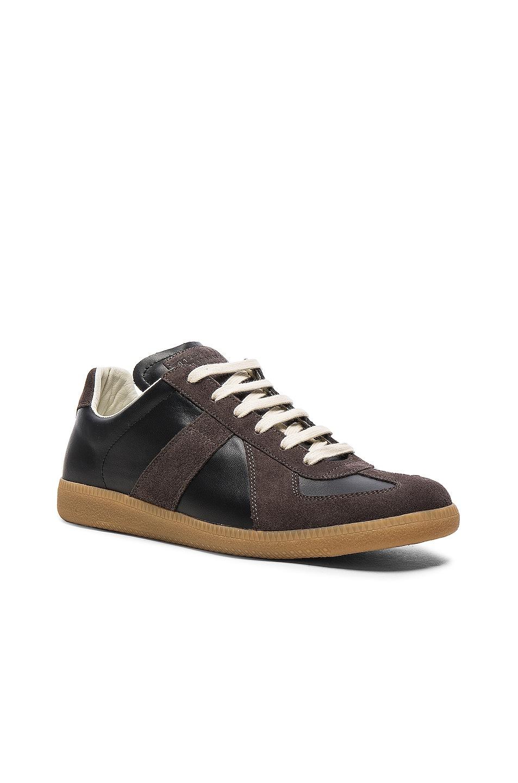 Image 2 of Maison Margiela Replica Sneakers in Black