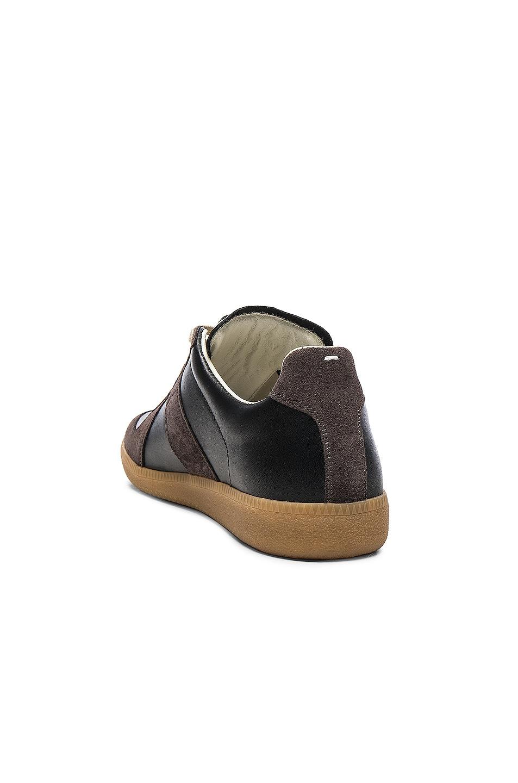 Image 3 of Maison Margiela Replica Sneakers in Black