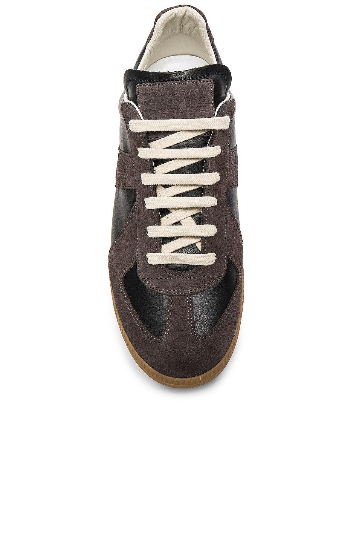 Image 4 of Maison Margiela Replica Sneakers in Black