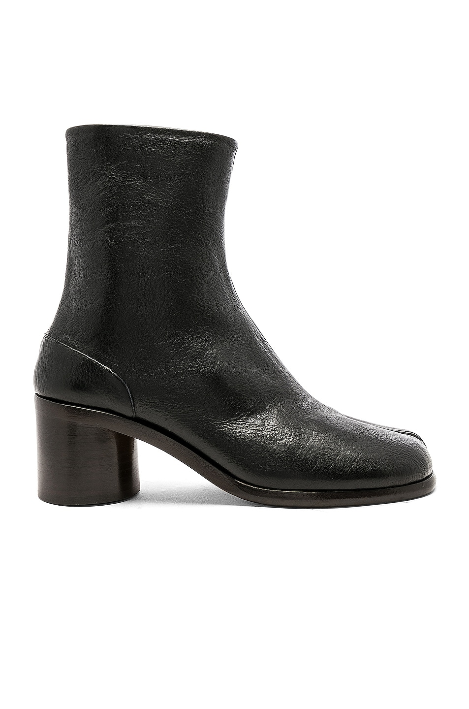 Image 1 of Maison Margiela Light Brushed Tabi Boot in Black