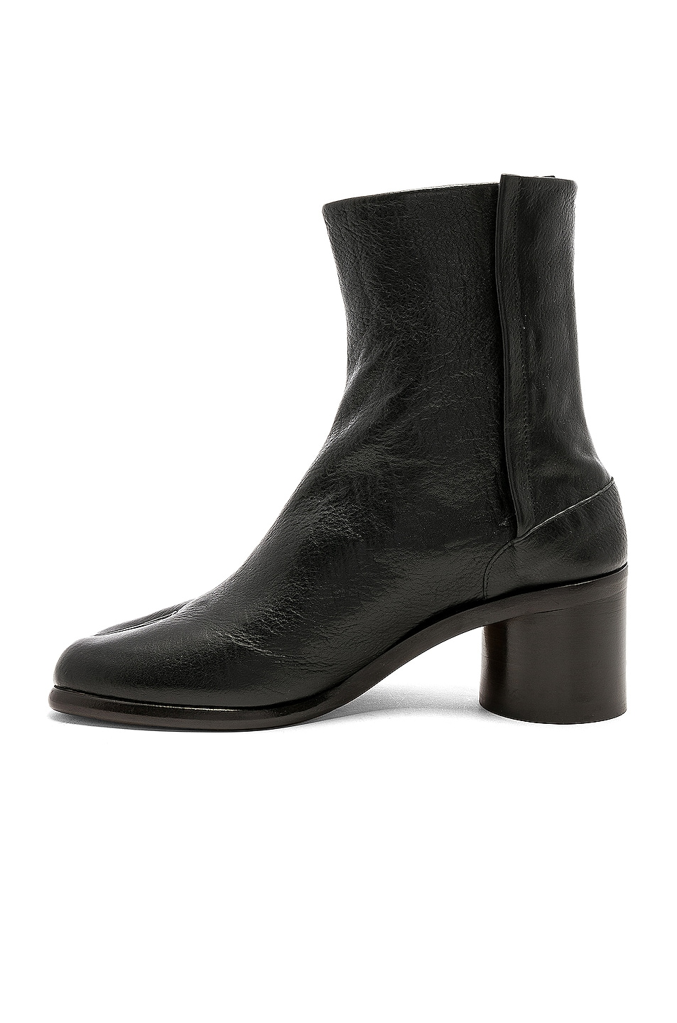 Image 5 of Maison Margiela Light Brushed Tabi Boot in Black