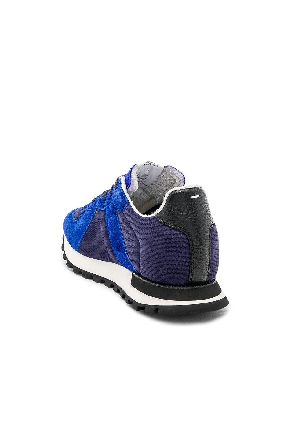 Image 3 of Maison Margiela Replica Runners in Navy & Electric Blue