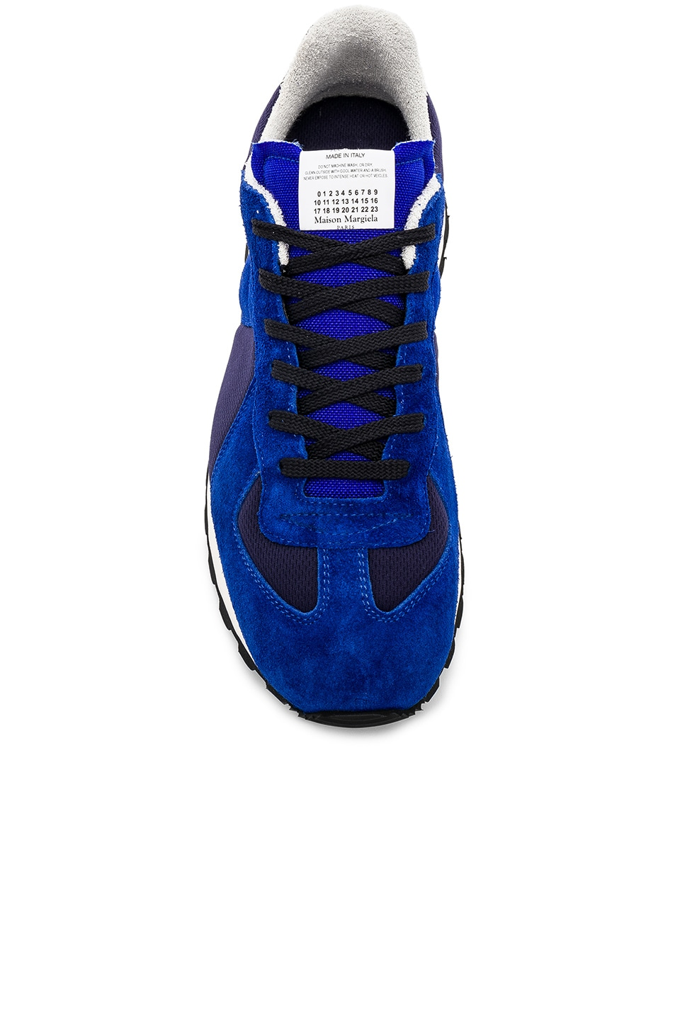 Image 4 of Maison Margiela Replica Runners in Navy & Electric Blue
