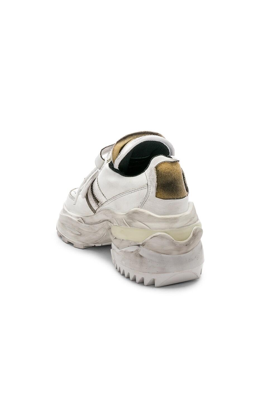 Image 3 of Maison Margiela Low Top Artisanal Sneaker in White
