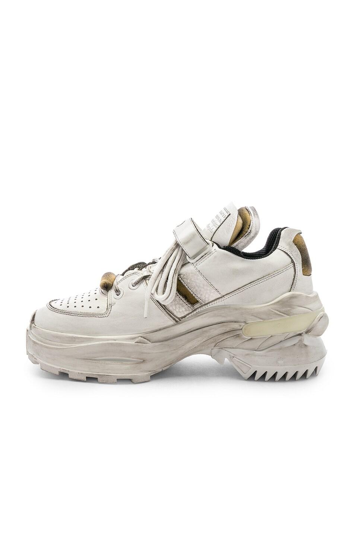 Image 5 of Maison Margiela Low Top Artisanal Sneaker in White