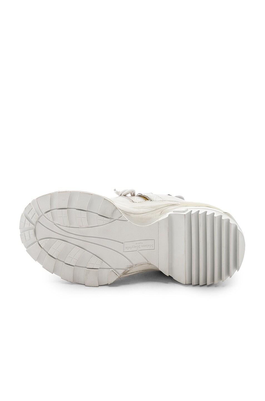 Image 6 of Maison Margiela Low Top Artisanal Sneaker in White