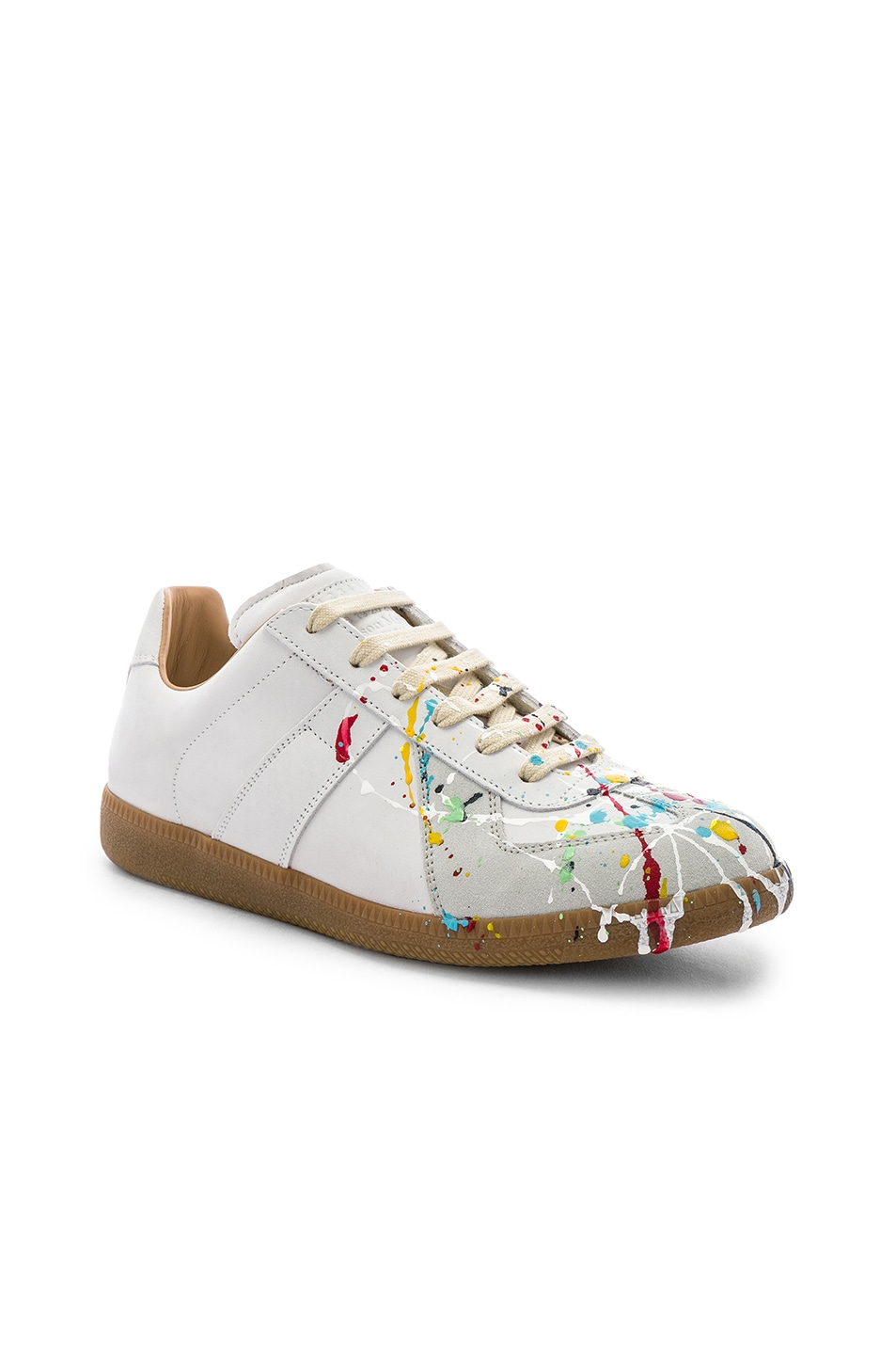 Image 1 of Maison Margiela Replica Low Top Painter in Off-White