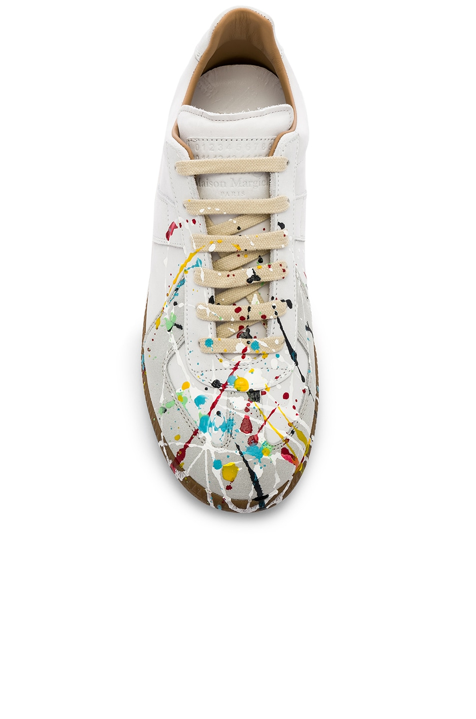 Image 4 of Maison Margiela Replica Low Top Painter in Off-White