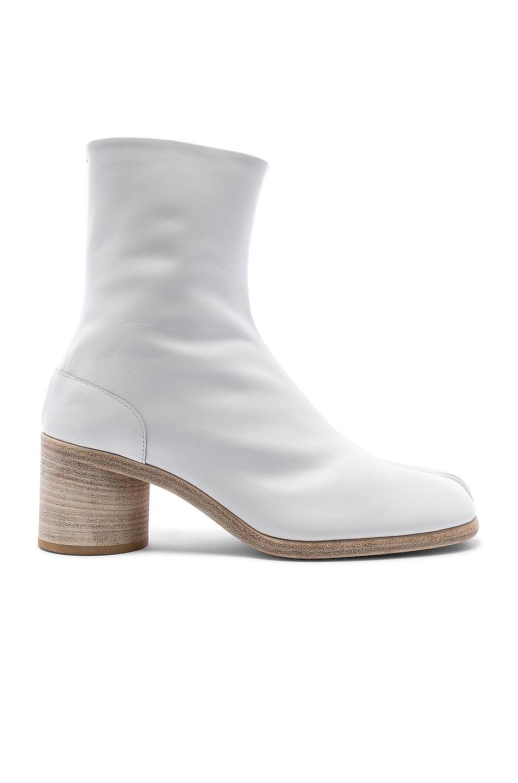 Image 1 of Maison Margiela Ankle Tabi in White