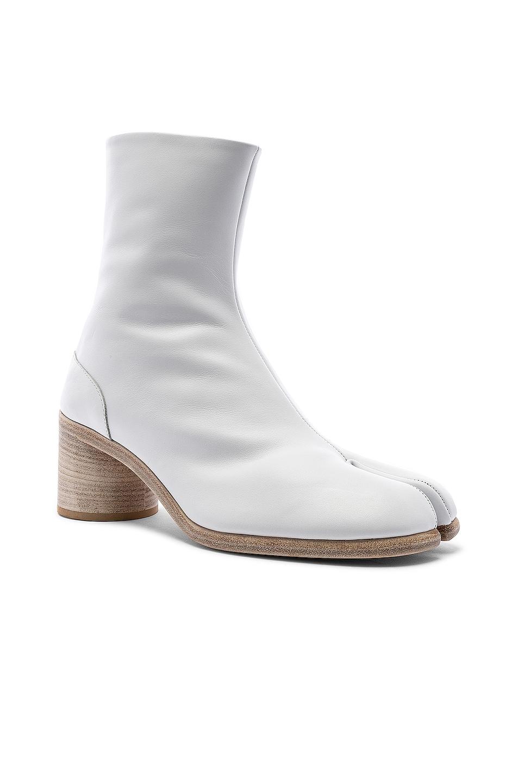Image 2 of Maison Margiela Ankle Tabi in White