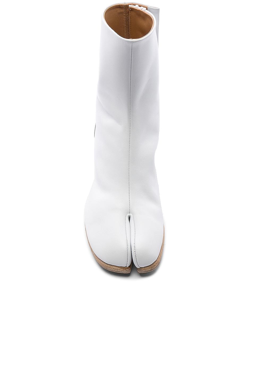Image 4 of Maison Margiela Ankle Tabi in White