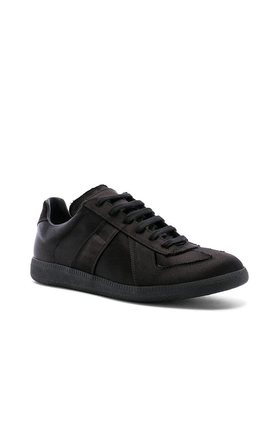 Image 1 of Maison Margiela Replica Low Top Sneakers in Black