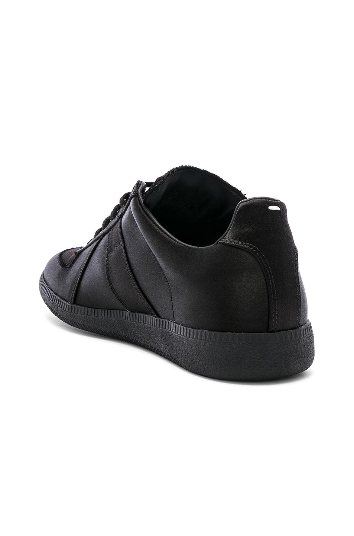 Image 3 of Maison Margiela Replica Low Top Sneakers in Black