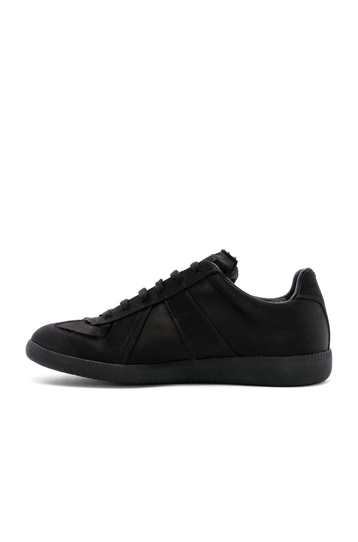 Image 5 of Maison Margiela Replica Low Top Sneakers in Black
