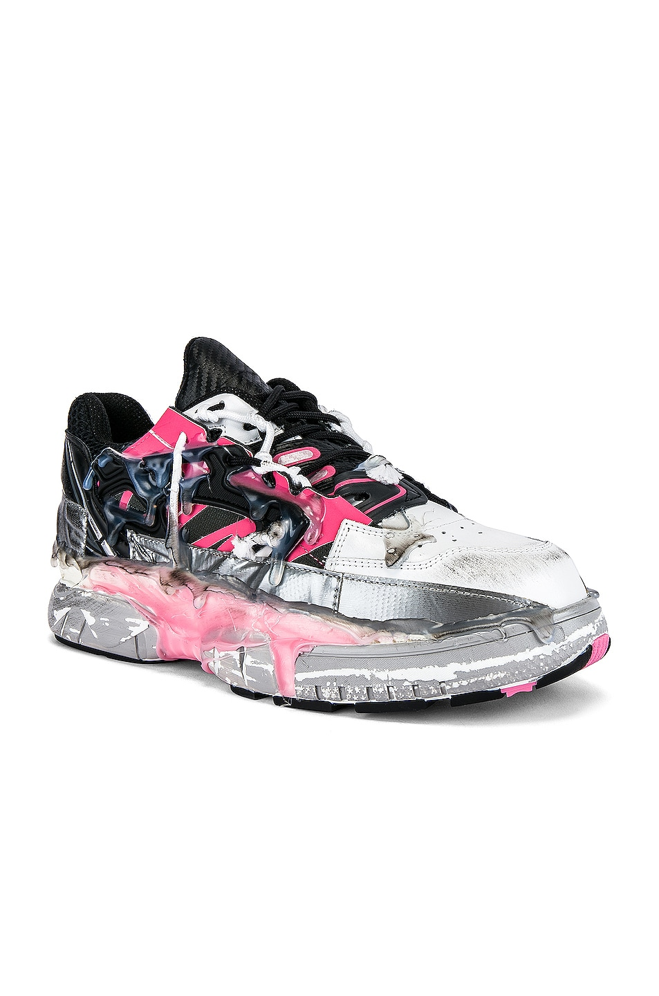 Image 1 of Maison Margiela Fusion Low Top in Bubblegum Mix