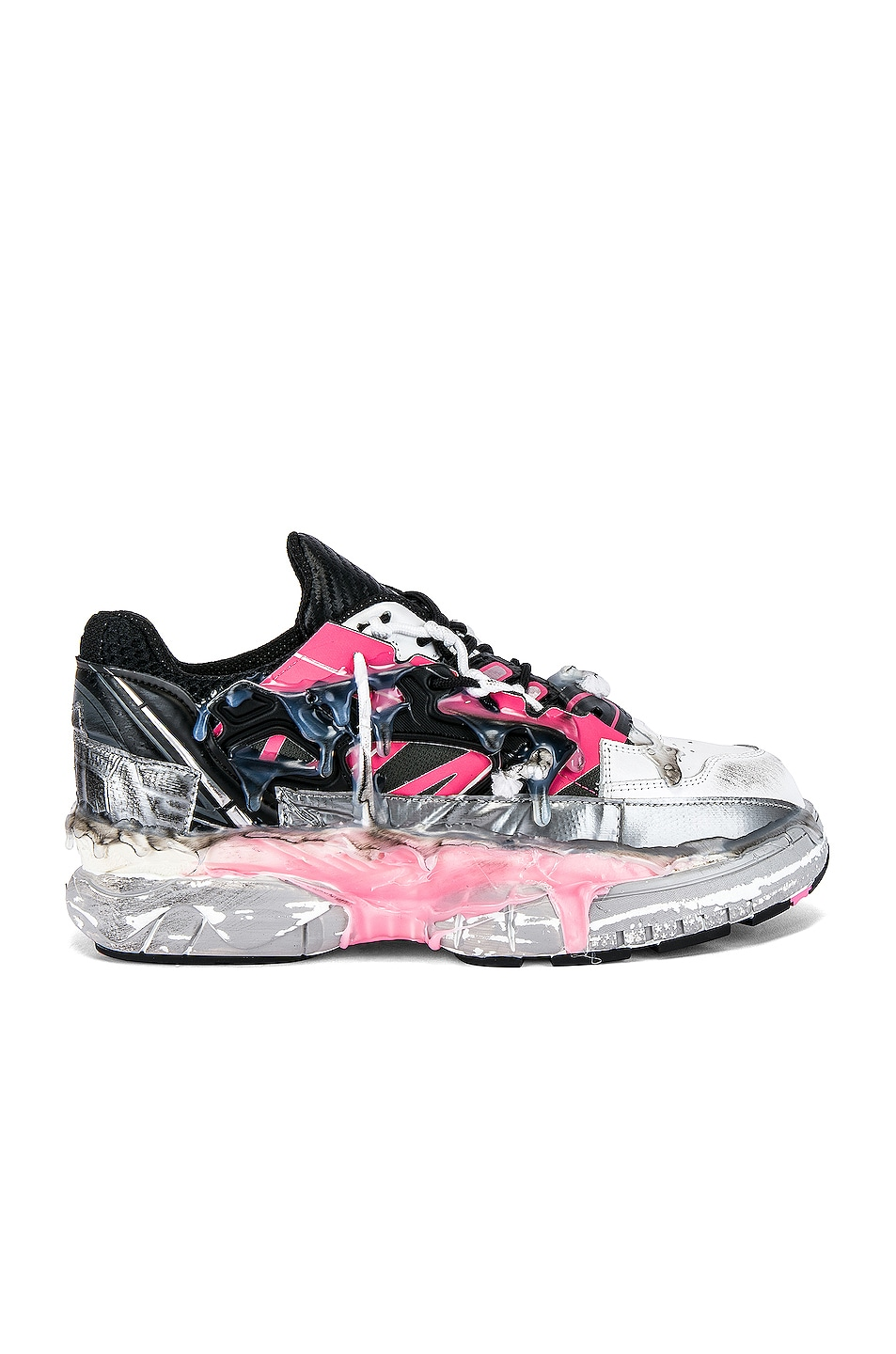 Image 2 of Maison Margiela Fusion Low Top in Bubblegum Mix