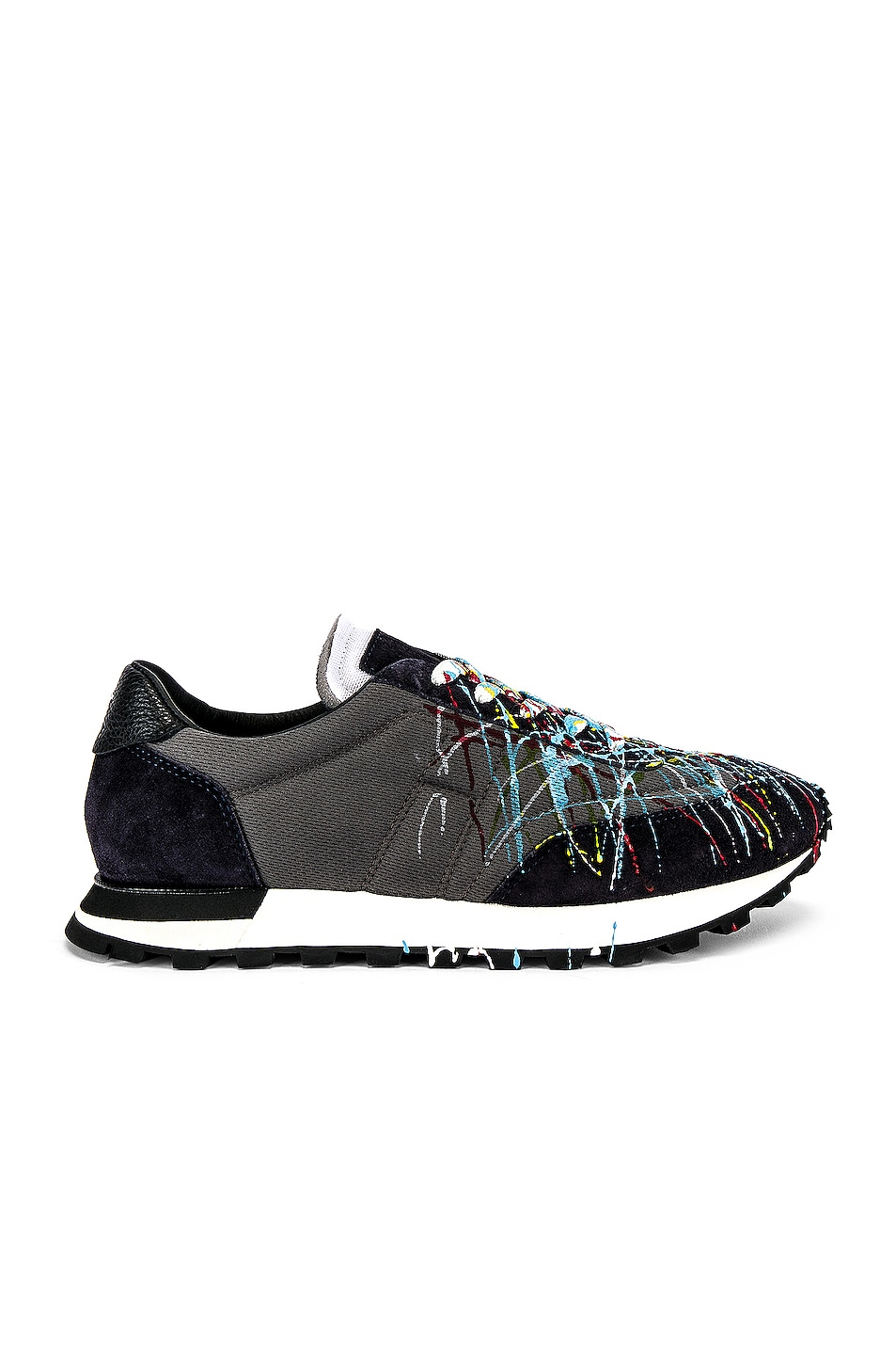 Image 2 of Maison Margiela Painted Runner In Multi in Multi