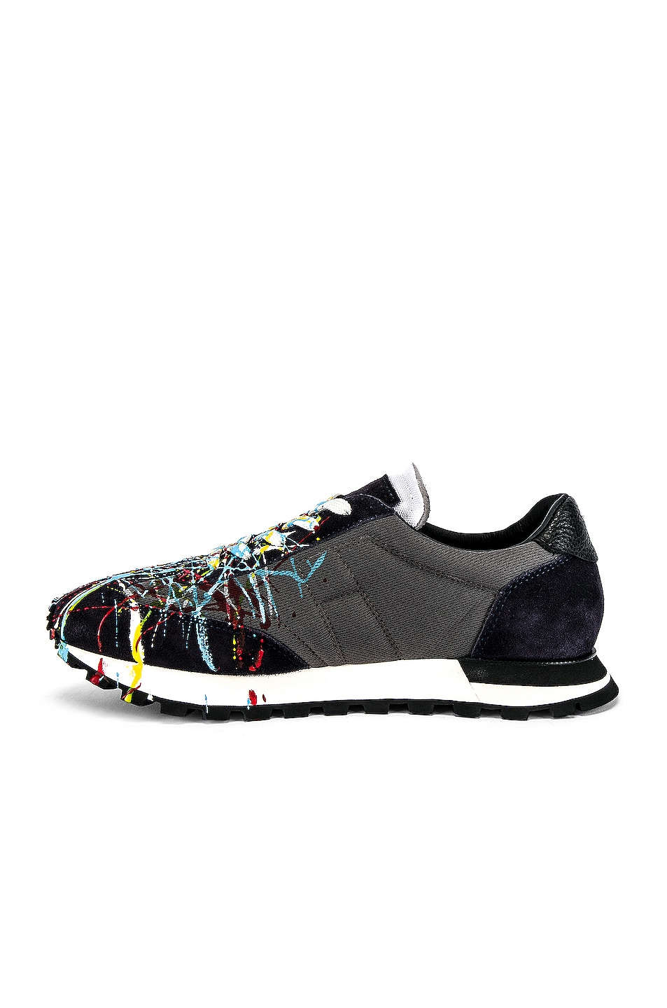 Image 5 of Maison Margiela Painted Runner In Multi in Multi