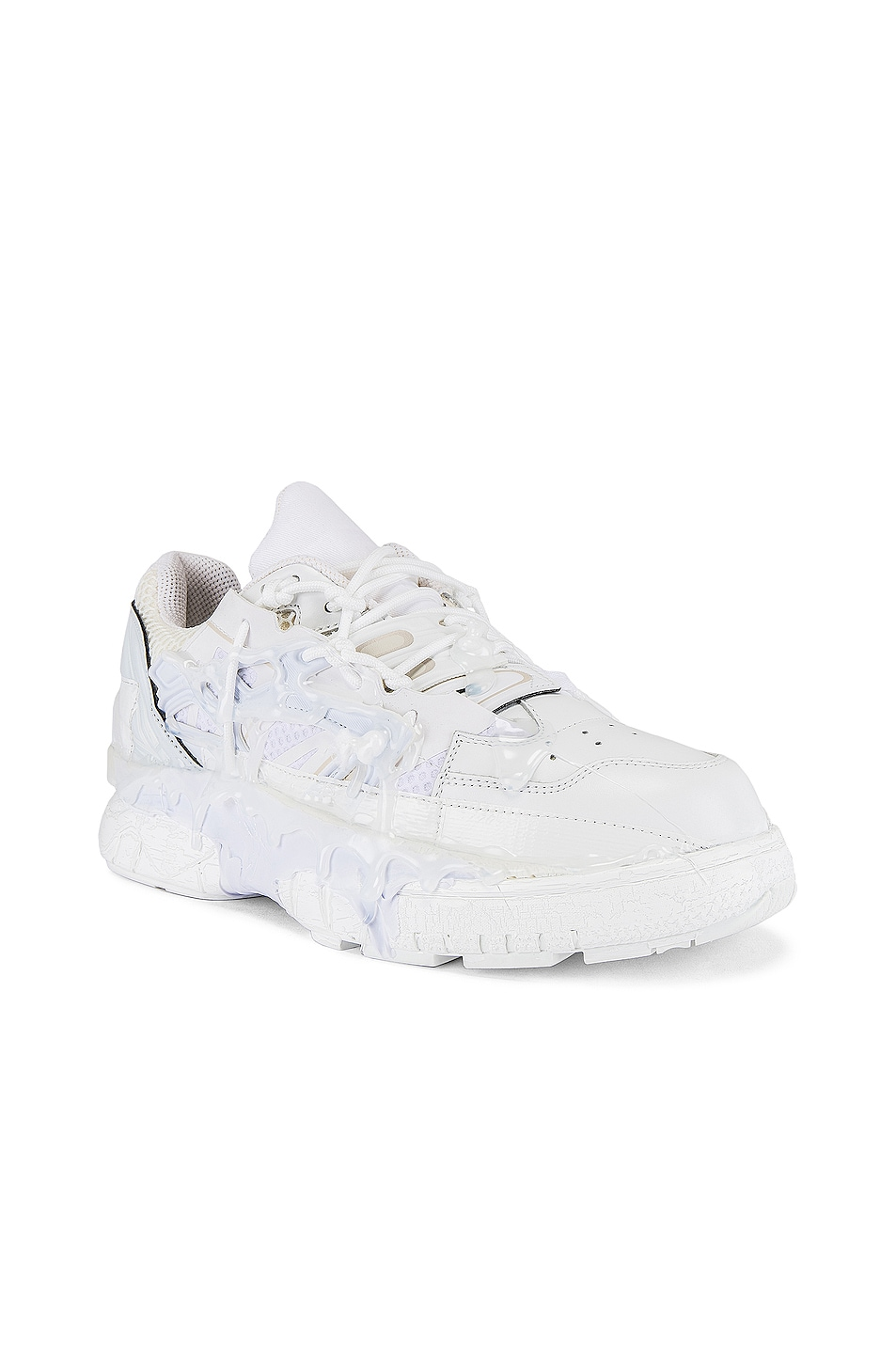 Image 1 of Maison Margiela Fusion Low Top in White Mix