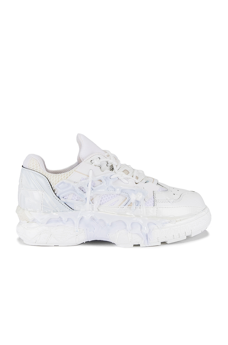 Image 2 of Maison Margiela Fusion Low Top in White Mix