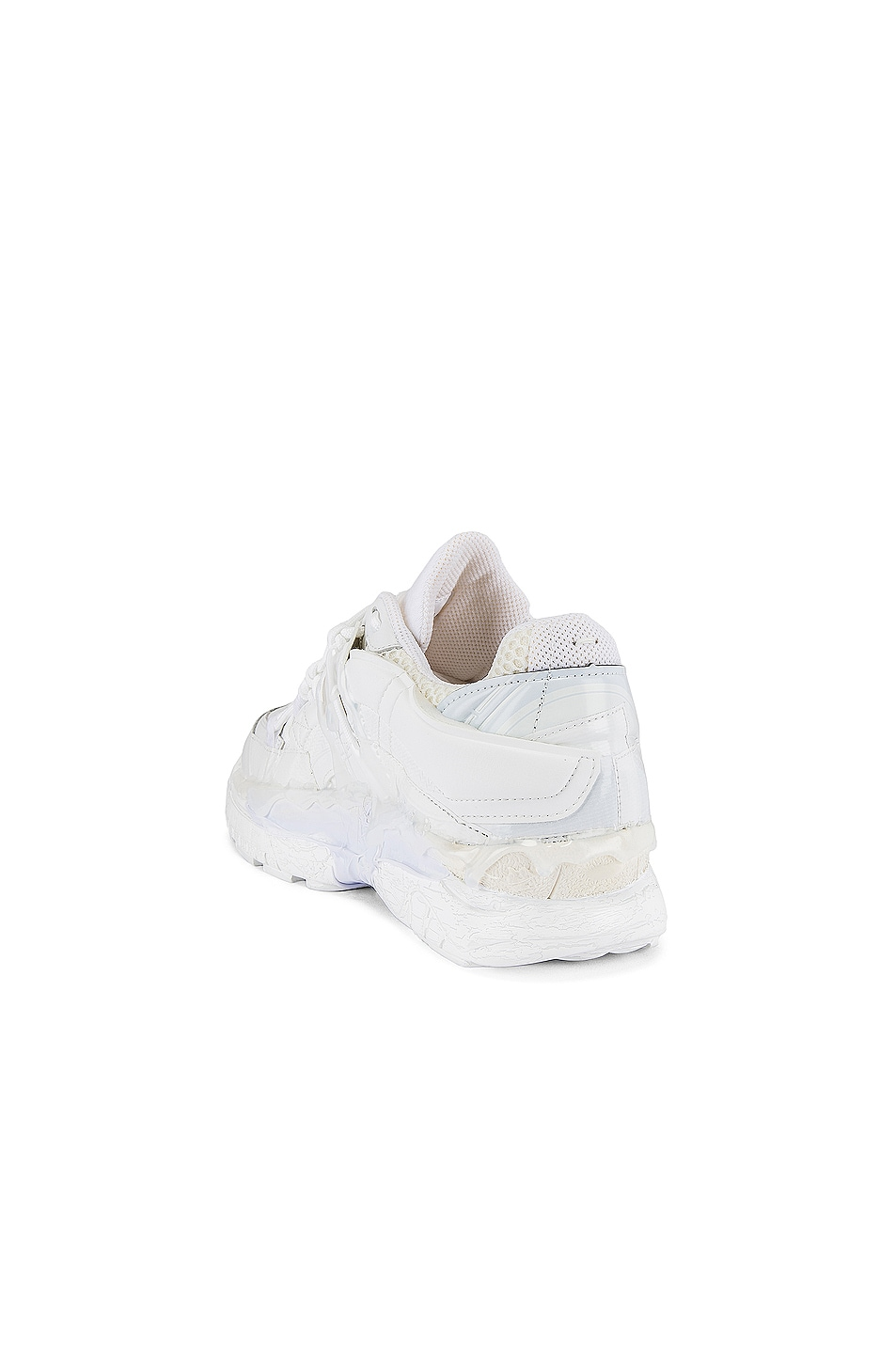 Image 3 of Maison Margiela Fusion Low Top in White Mix