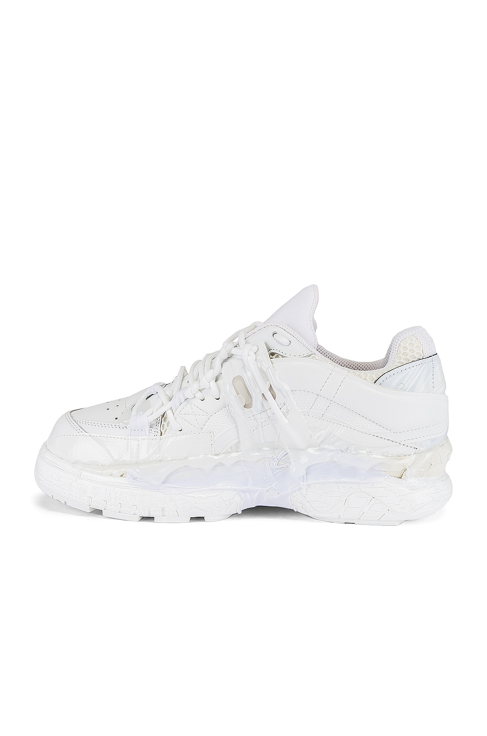 Image 5 of Maison Margiela Fusion Low Top in White Mix