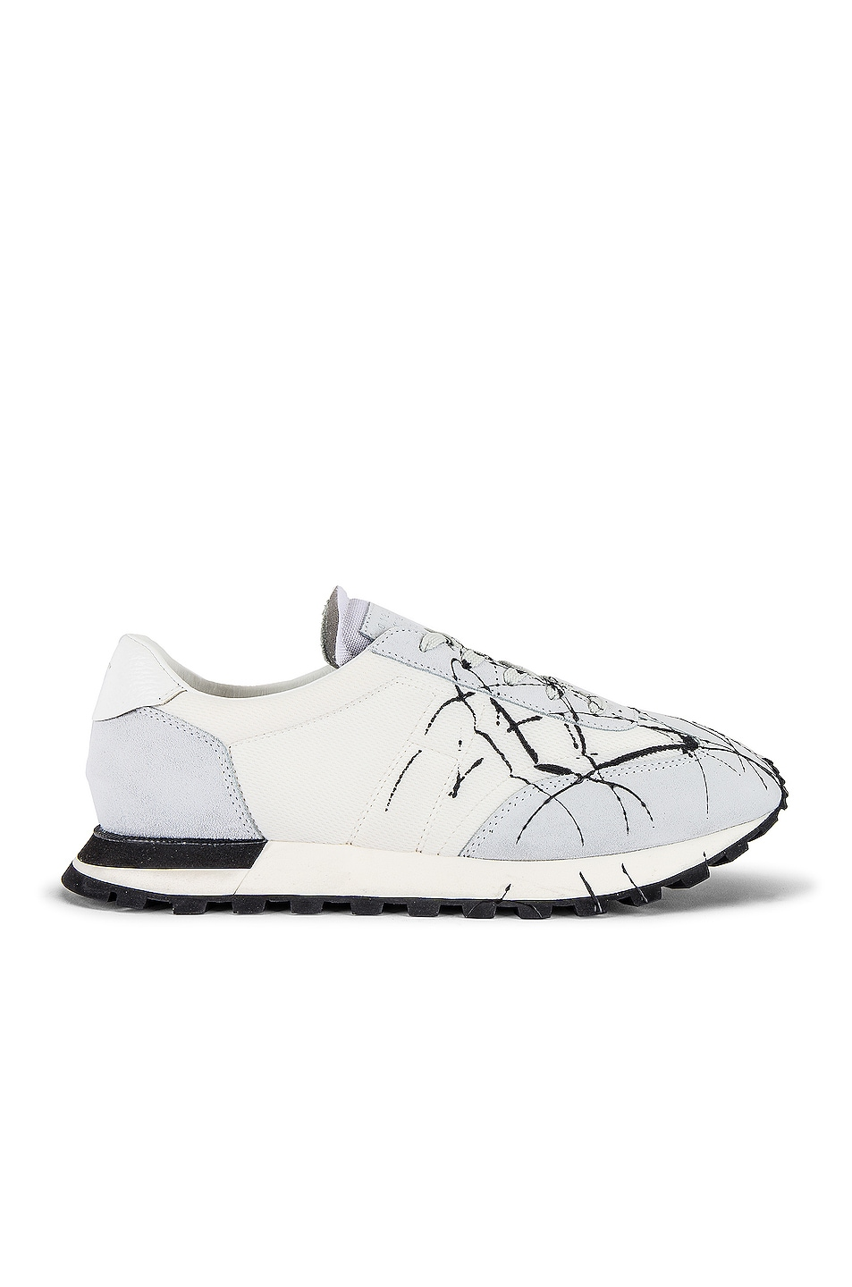 Image 2 of Maison Margiela Apertura Post in Off White & Black