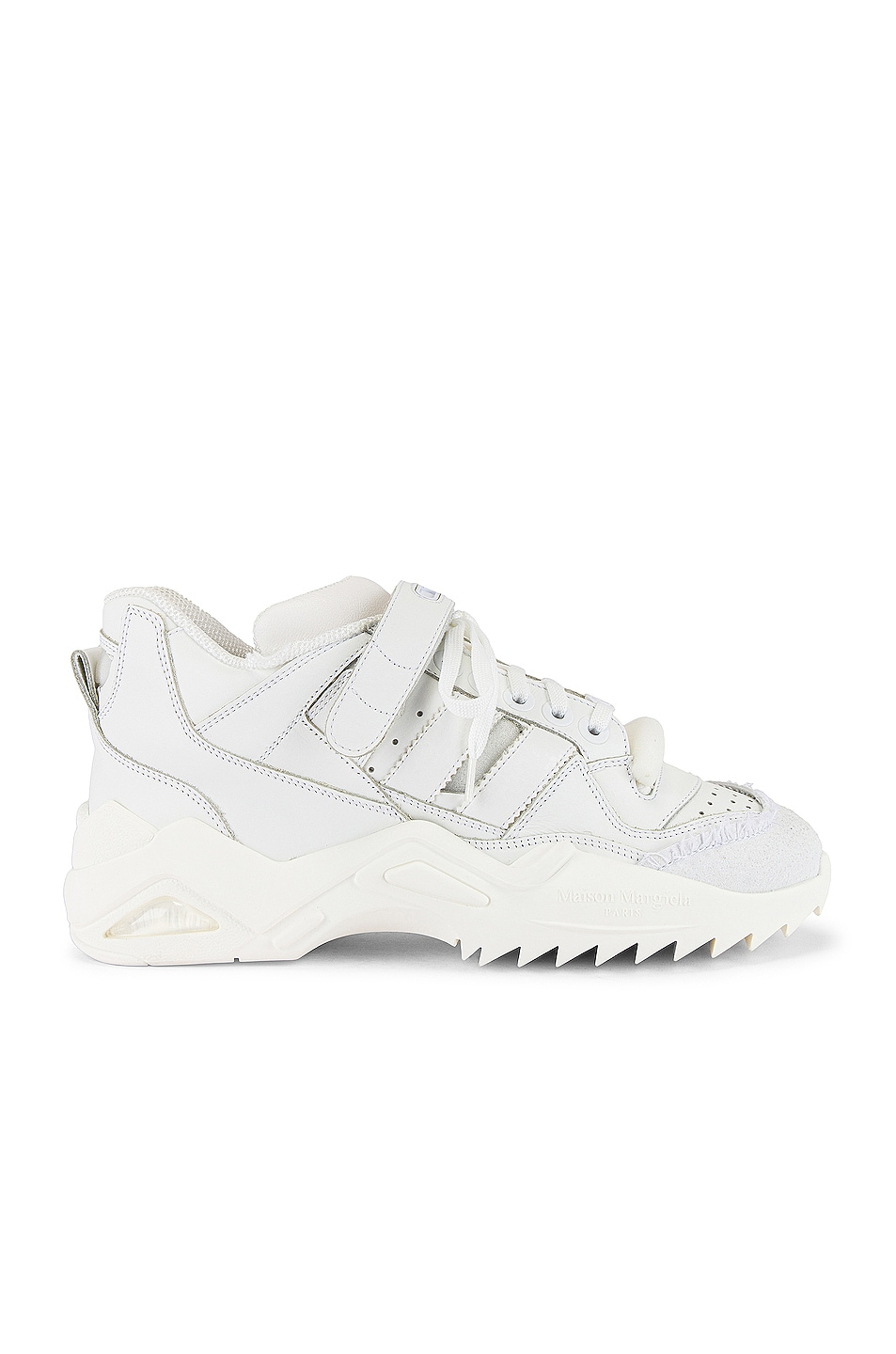 Image 2 of Maison Margiela Retro Fit Midi Sneaker in White