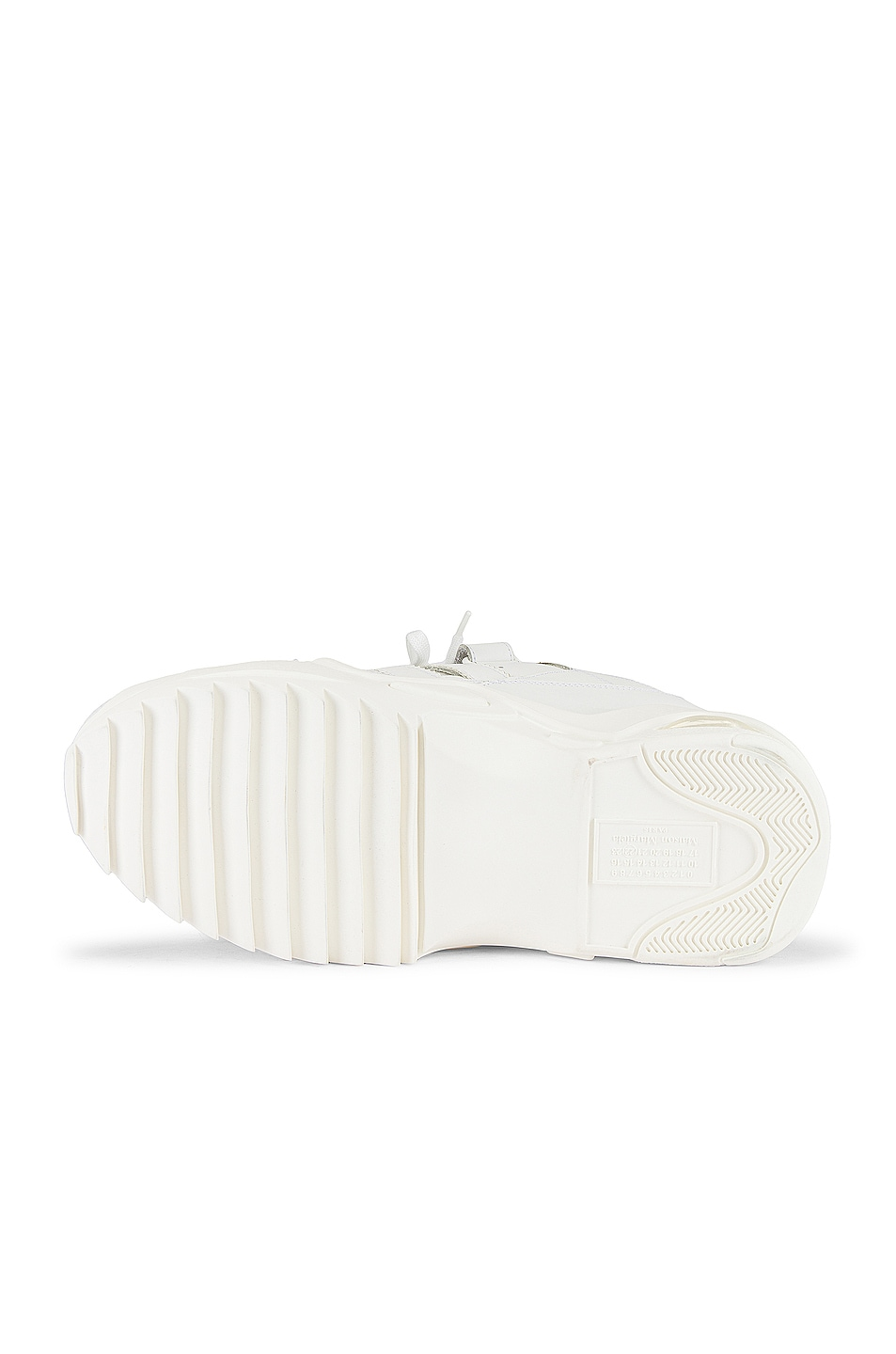 Image 6 of Maison Margiela Retro Fit Midi Sneaker in White