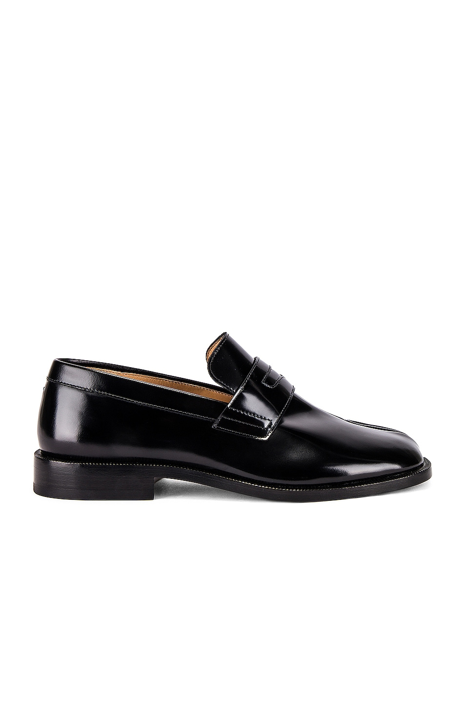 Image 2 of Maison Margiela Tabi Advocate Loafer in Black