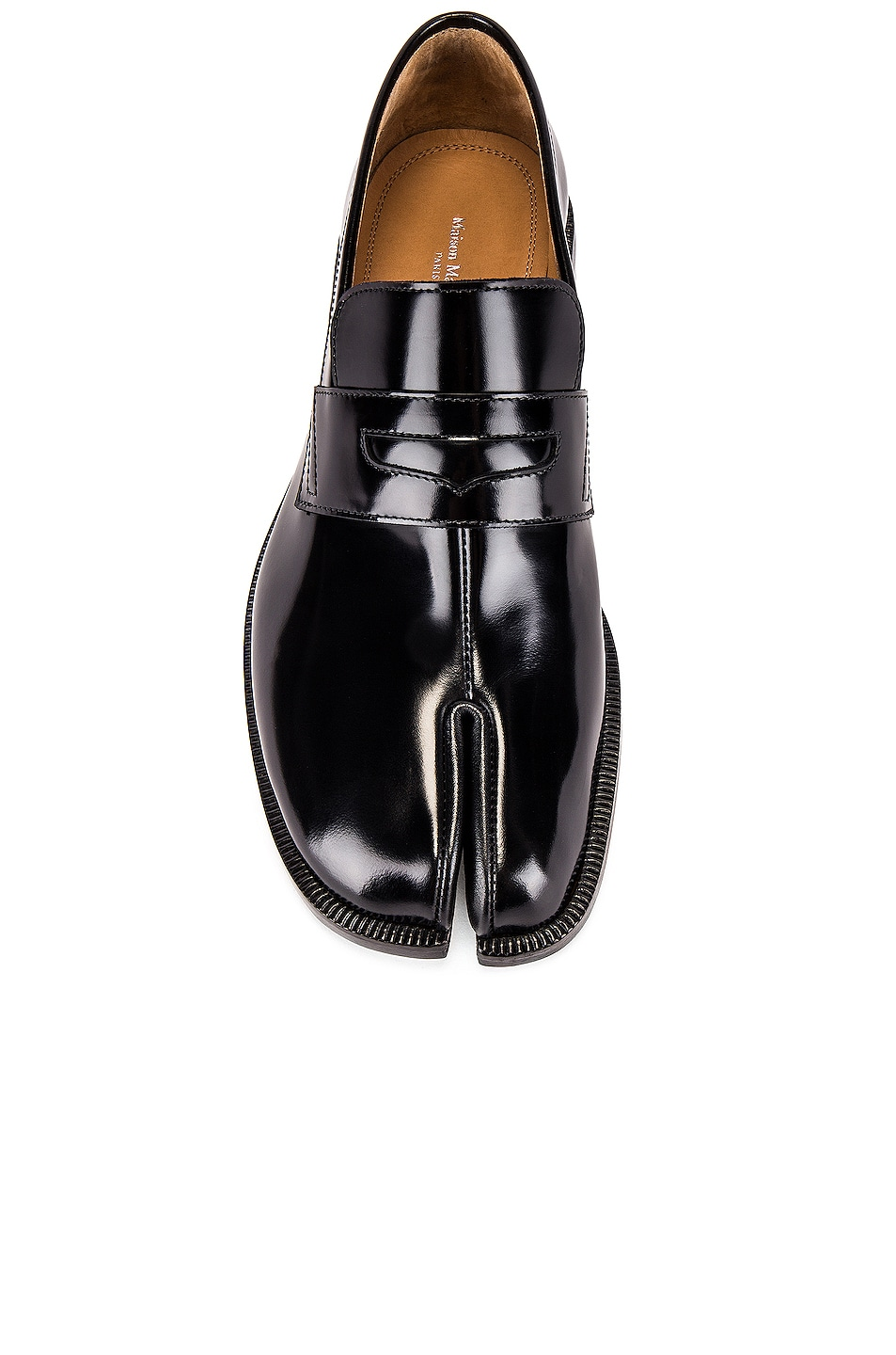 Image 4 of Maison Margiela Tabi Advocate Loafer in Black