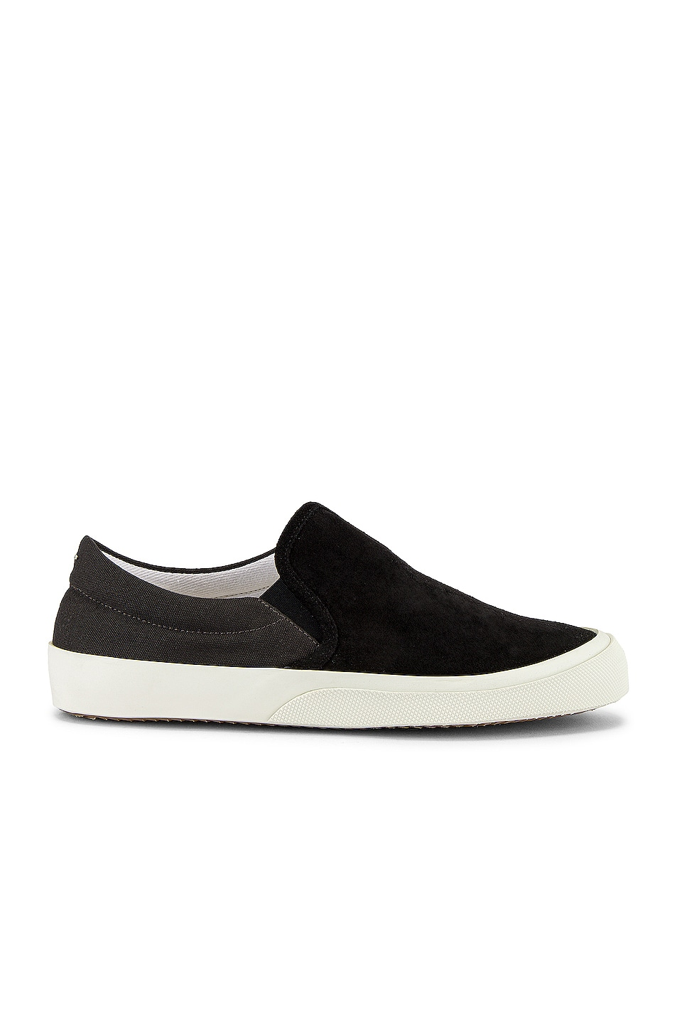 Image 2 of Maison Margiela Hurricane Slip On in Smoke 91 & Neroy