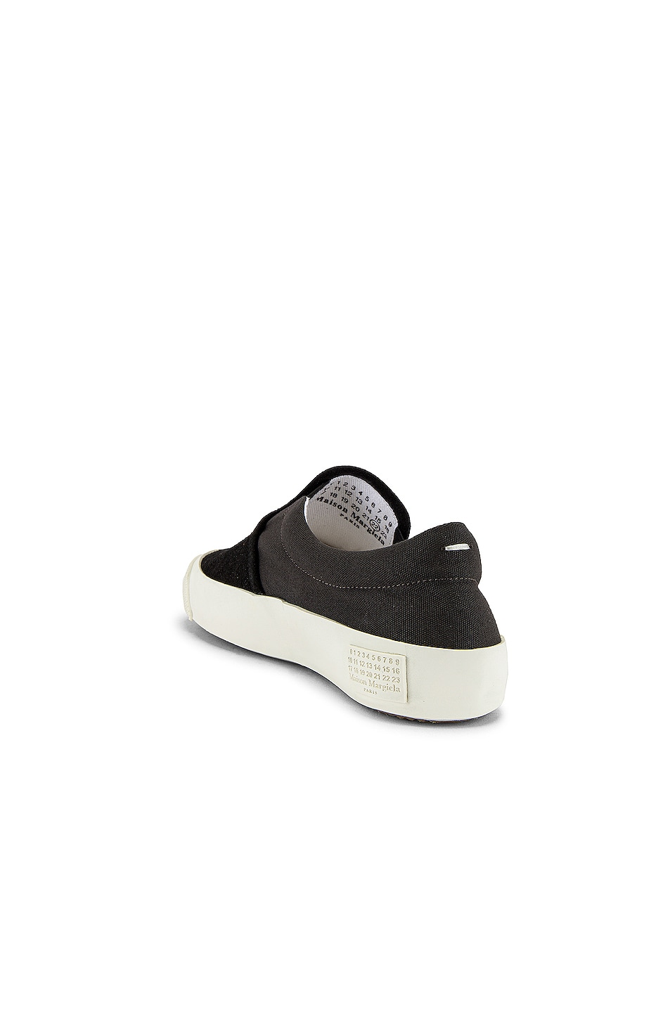 Image 3 of Maison Margiela Hurricane Slip On in Smoke 91 & Neroy