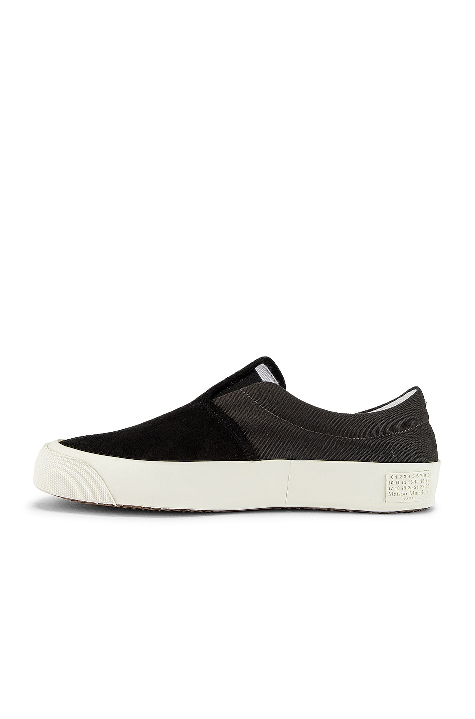 Image 5 of Maison Margiela Hurricane Slip On in Smoke 91 & Neroy