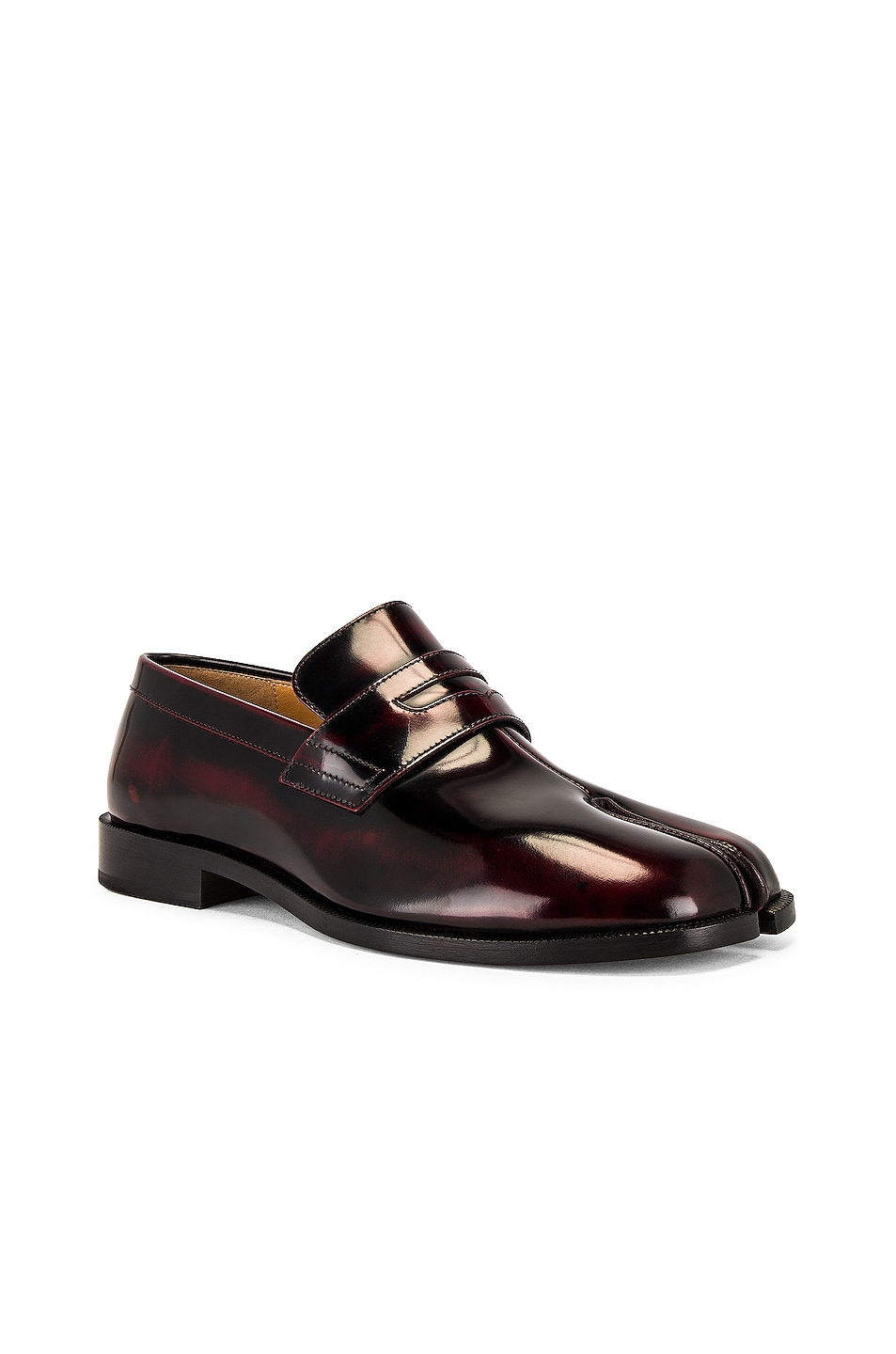 Image 1 of Maison Margiela Tabi Advocate Loafer in Cremisi Red