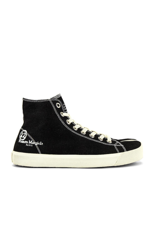 Image 1 of Maison Margiela Tabi Sneaker in Black