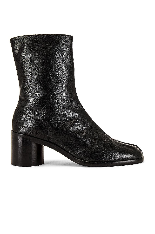 Image 1 of Maison Margiela Tabi Ankle Boot in Black