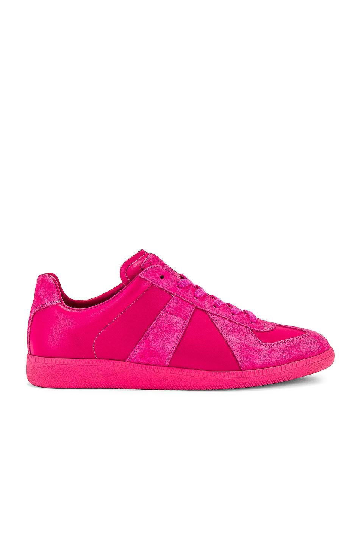 Image 1 of Maison Margiela Replica Sneakers in Mauve
