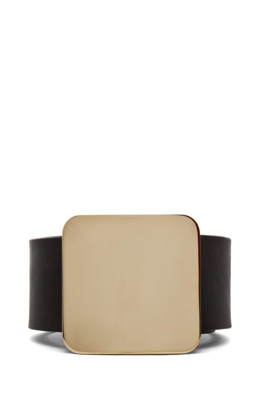 Image 1 of Maison Margiela Large Waist Belt in Black