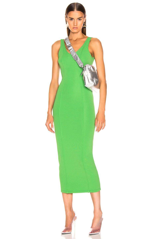 Image 1 of Maison Margiela Midi Dress in Green