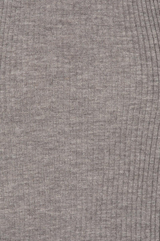 Image 5 of Maison Margiela Gauge Wool Rib Cardigan Dress in Grey Melange