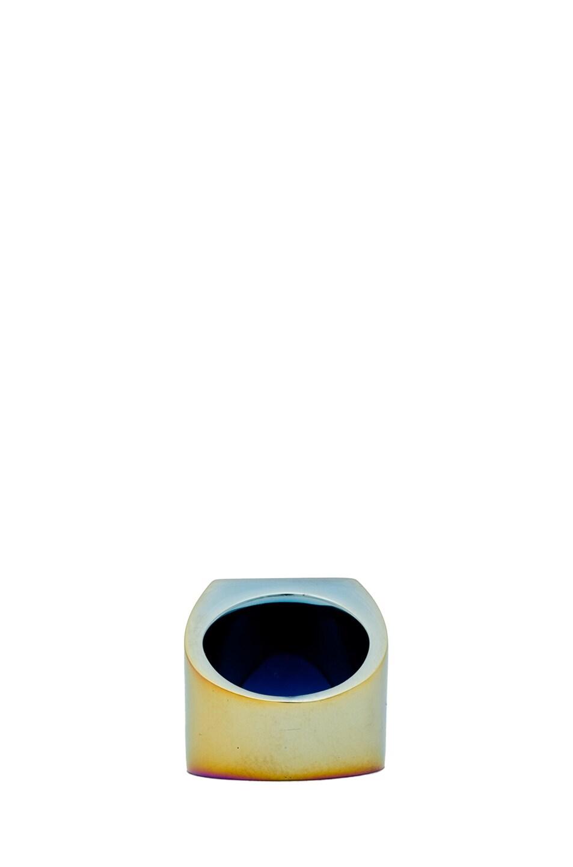 Image 4 of Maison Margiela Large Hidden Gem Ring in Multi