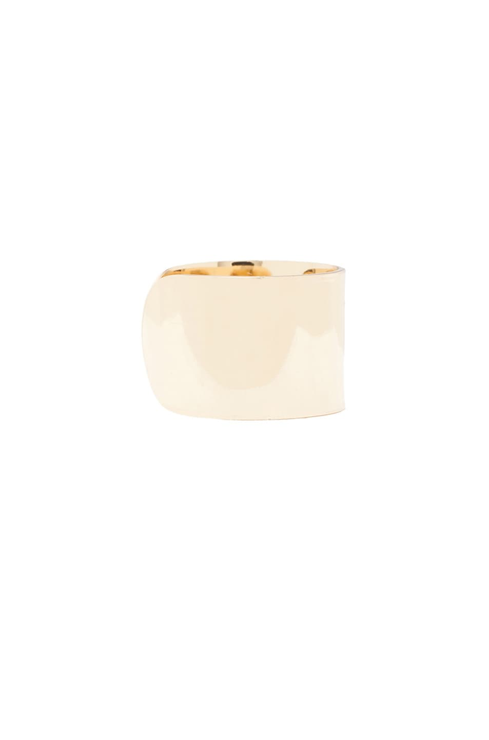 Image 3 of Maison Margiela Ring Set in Light Gold