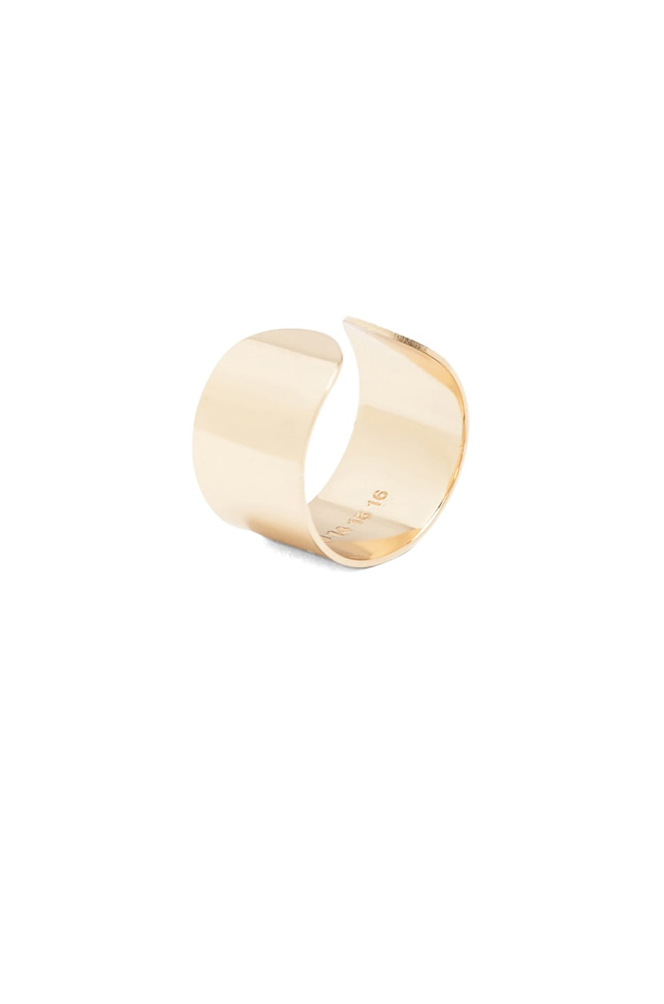 Image 5 of Maison Margiela Ring Set in Light Gold